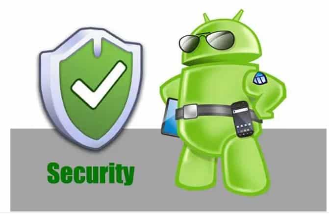 Aplicación de seguridad móvil para Android